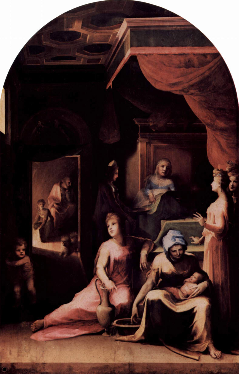 Domenico Beccafumi - Birth of Mary (1540-43)