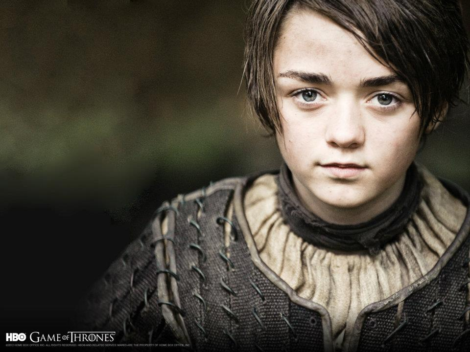 Photographer Unknown - Game of Thrones - Arya Stark (Maisie Williams)