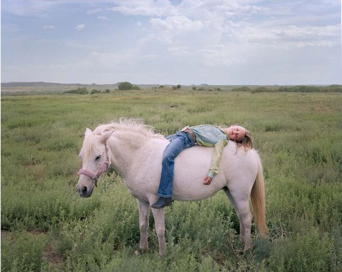 Ilona Szwarc - Taylyn, Seven, and Her Pony (2013)