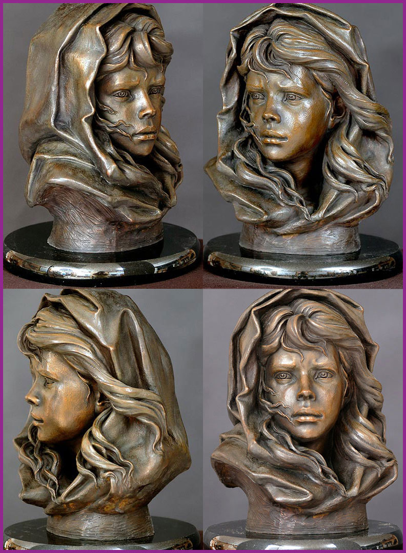 Philippe Faraut - The Fisherman's Daughter (bronze, 2007)