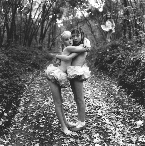 Michal Chelbin - Xenia, Janna and Alona in the Woods, Russia (2003) (2)
