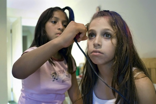 Rania Matar - Hair Straightening, Brookline (2007)