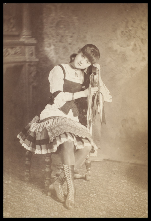Artist Unknown - Guy Little Theatrical Photograph of Connie Gilchrist (5)