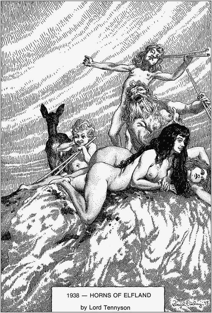 Virgil Finlay - Horns of Elfland (1938)