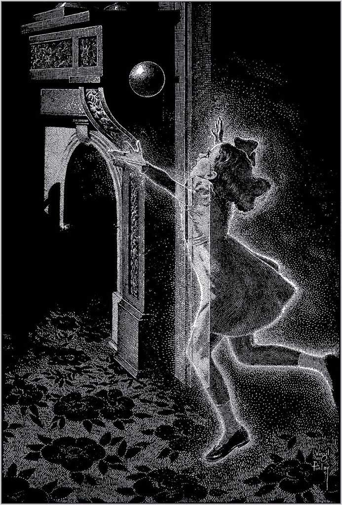 Virgil Finlay - The Shadowy Third (1951)