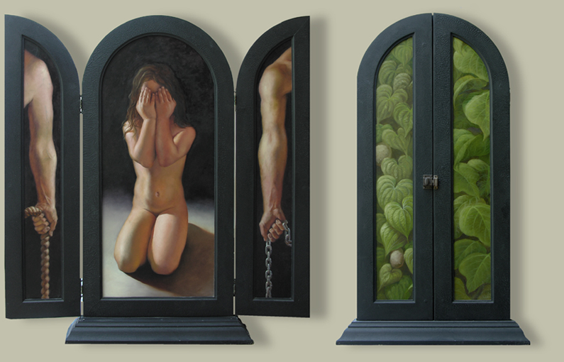 Aaron Board - Taproot Altarpiece (2006)