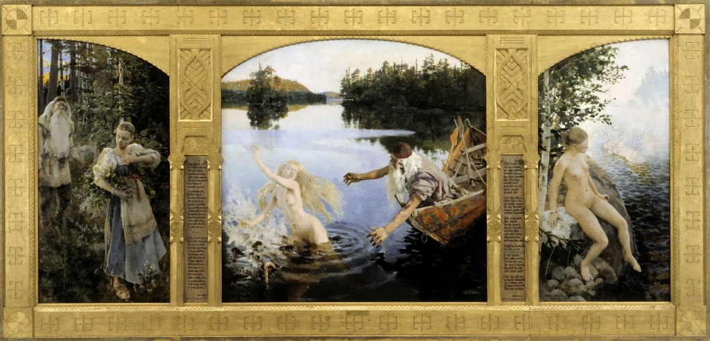 Akseli Gallen-Kallela – The Legend of Aino (1891)