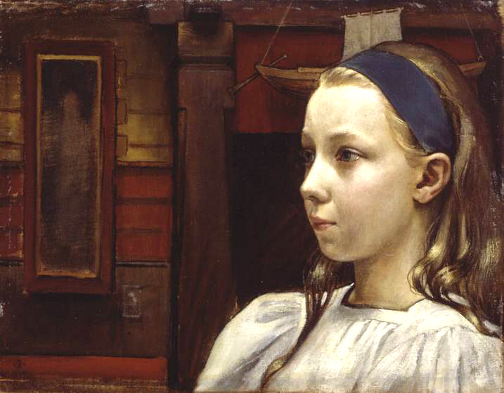 Akseli Gallen-Kallela – Little Anne
