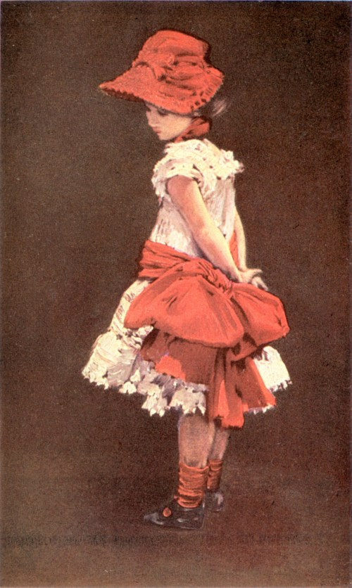 Albert von Keller – The Little Parisienne (1883)