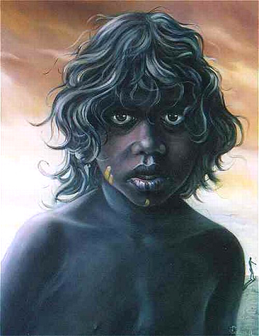 alex-levin-mary-dechantel-aborigine-girl