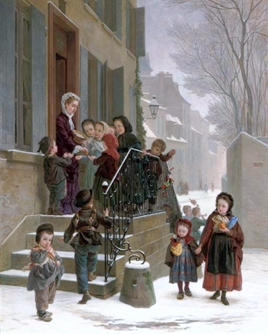 Andre Henri Dargelas - New Year's Day