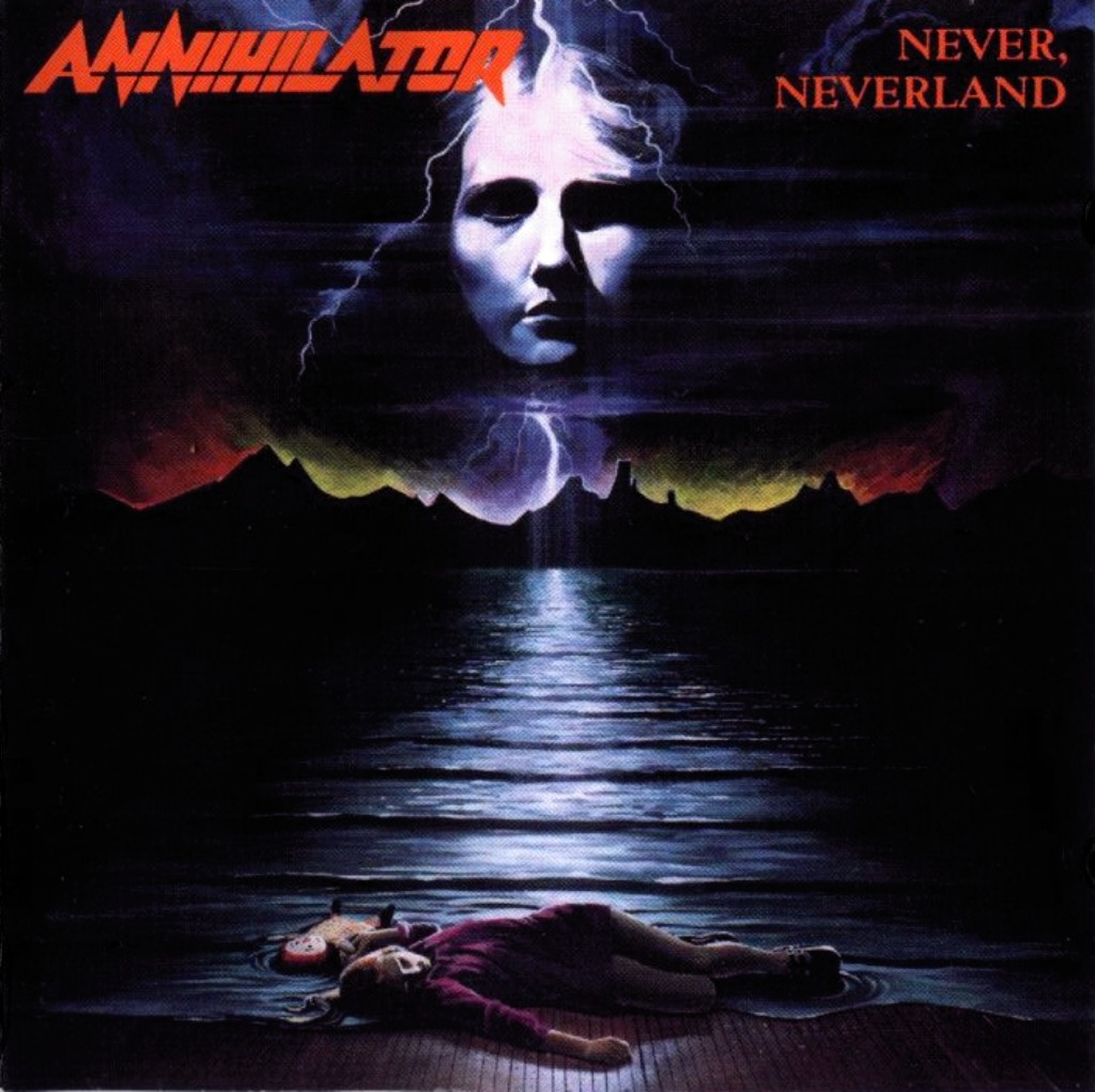 Annihilator – Never, Neverland (cover)