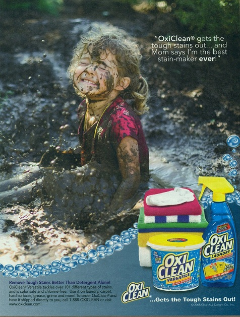 (Artist Unknown) – OxiClean ad (2008)