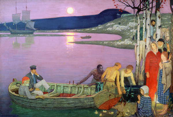 Frederick Cayley Robinson – The Call of the Sea