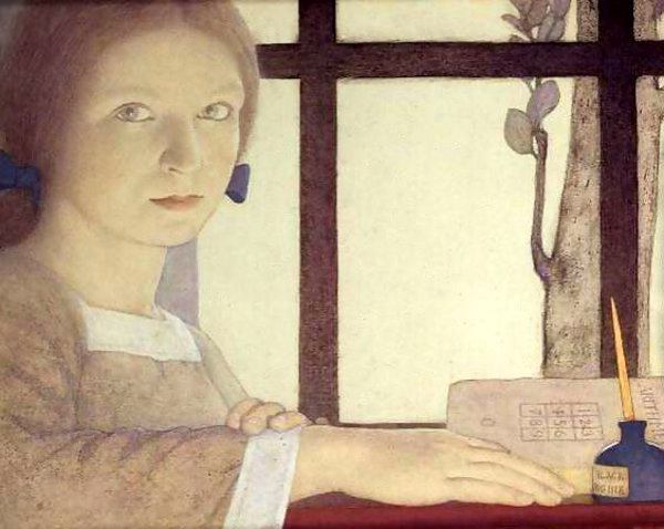 Frederick Cayley Robinson – Lesson Time
