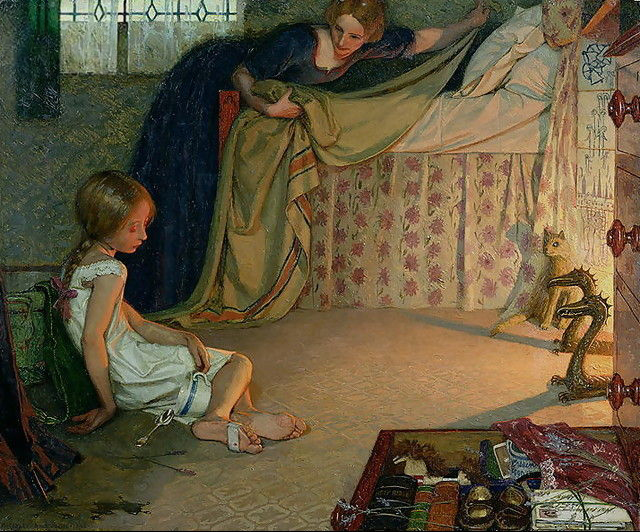 Frederick Cayley Robinson – The Foundling