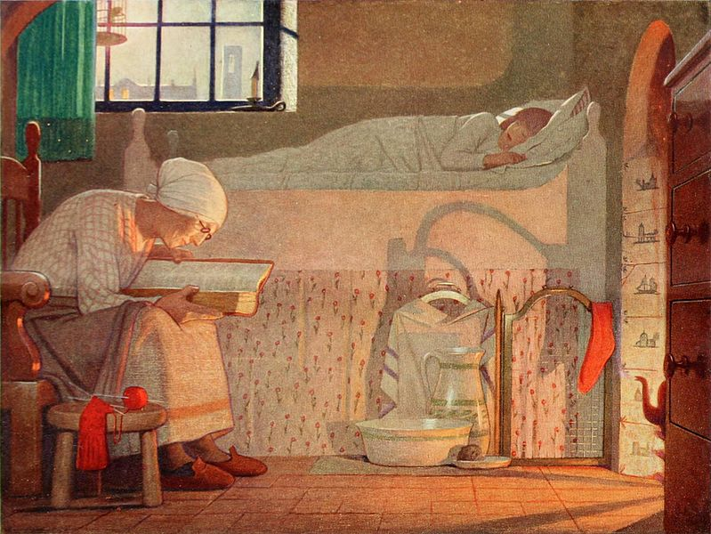 Frederick Cayley Robinson – The Word