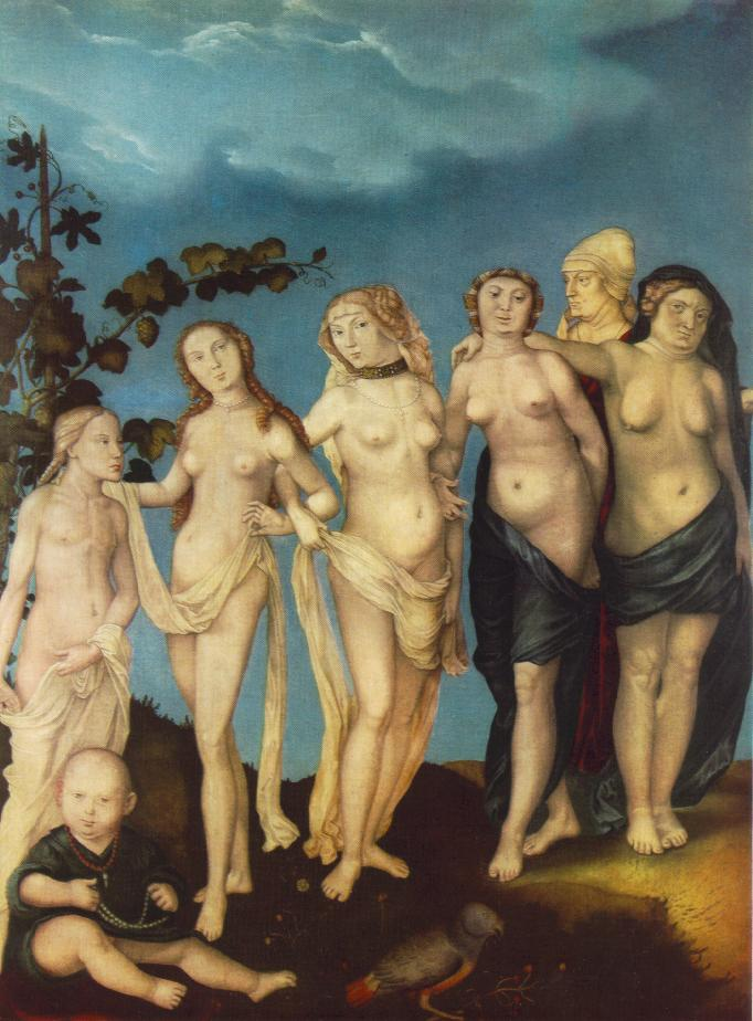 Hans Baldung - The Seven Ages of Woman (early 16th century)