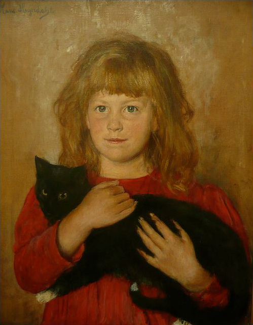 hans-olaf-heyerdahl-girl-with-a-cat-1887