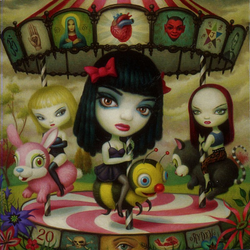 Mark Ryden - Jack Off Jill - Clear Hearts, Grey Flowers (cover)