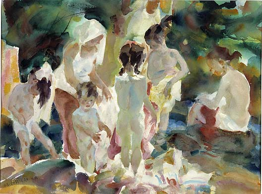 John Edward Costigan - Figures in the Sunlight #1 (1961)