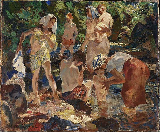 John Edward Costigan - Picnic Along the Brook (1952)