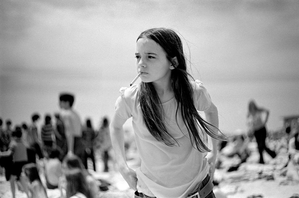 Joseph Szabo - Priscilla, Jones Beach (1969)