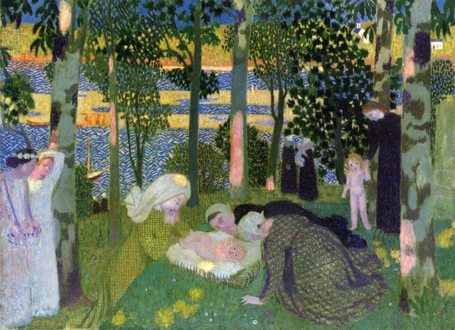 Maurice Denis - Afternoon in the Woods (1900)