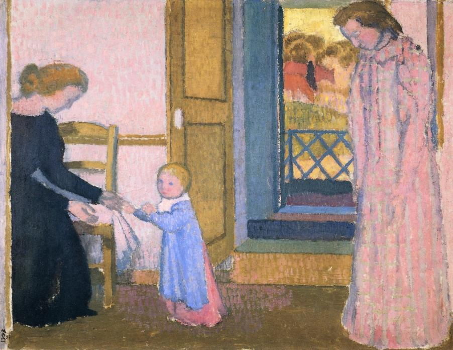 Maurice Denis - Noëlle's First Steps (1897)