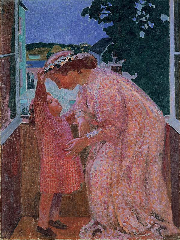 Maurice Denis - The Crown of Daisies (1906)