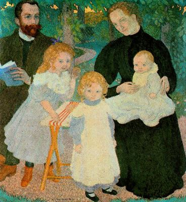 Maurice Denis - The Mellerio Family (1897)