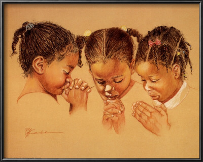 Pam McCabe - Three Girls Praying