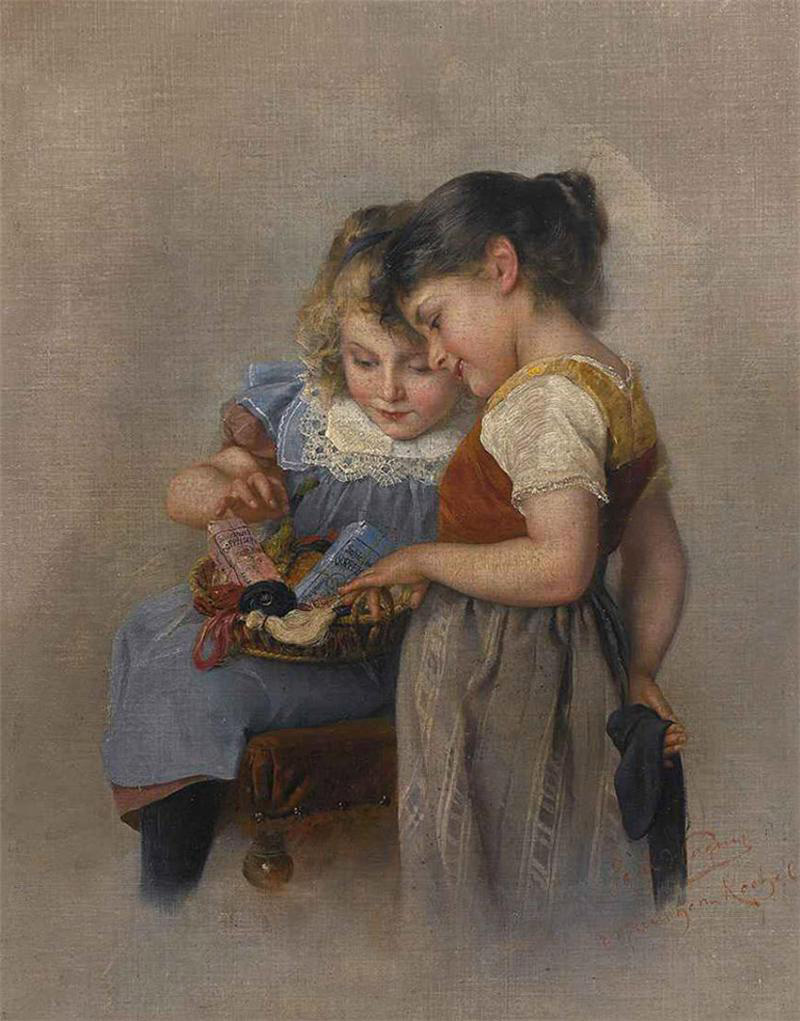 Paul Hermann Wagner – Darning Stockings