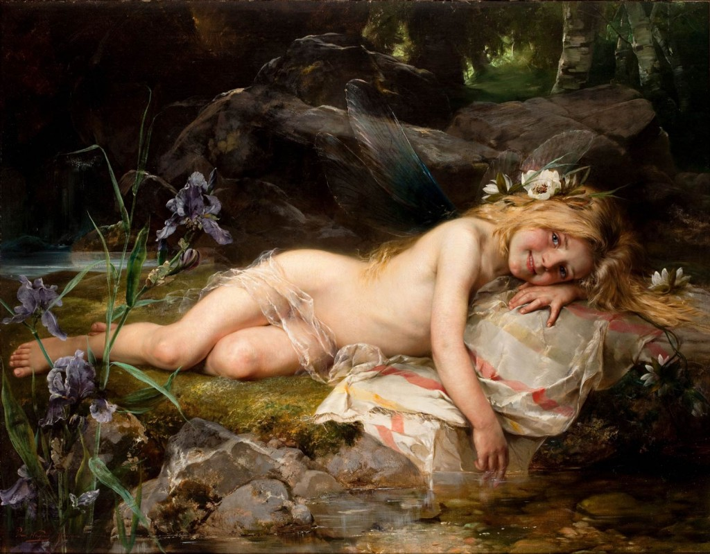 Paul Hermann Wagner – Forest Nymph