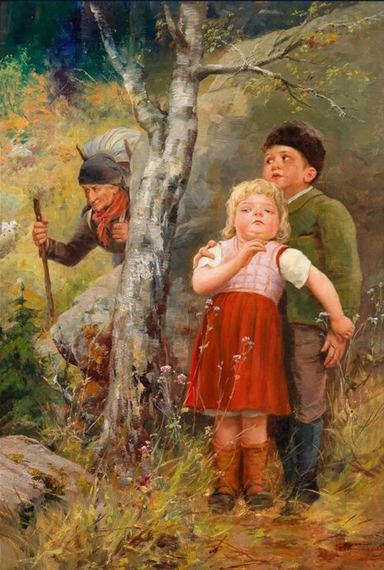 Paul Hermann Wagner – Hansel and Gretel in the Forest