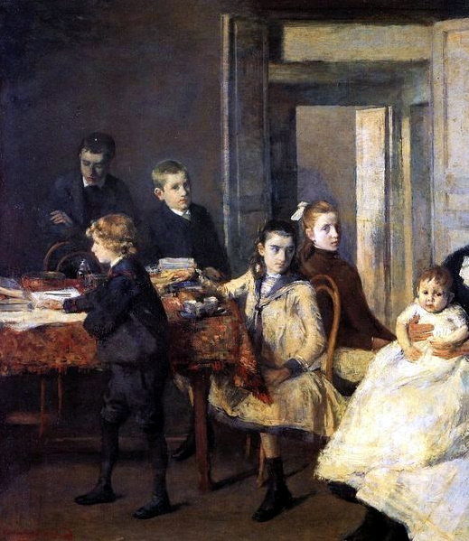 Théo van Rysselberghe – The Children of François Van Rysselberghe