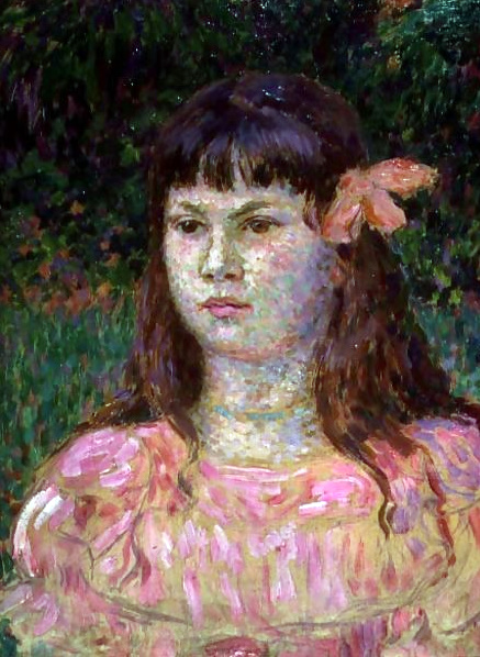 Théo van Rysselberghe – The Pink Ribbon (Sylvie Lacombe)
