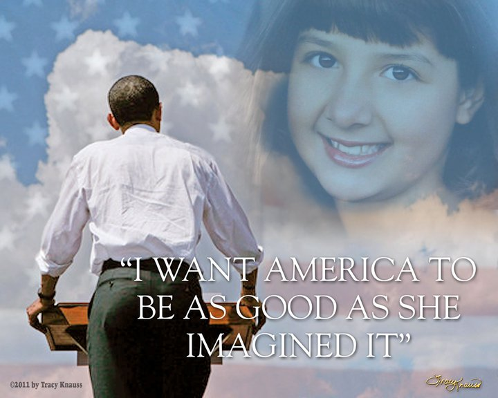 Tracy Knauss - I Want America to Be as Good as She Imagined It (2011)
