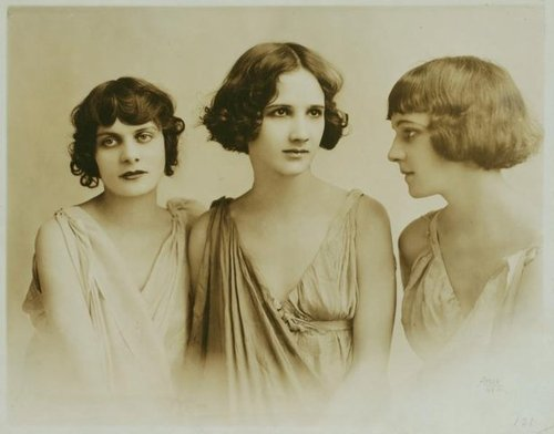 Photographer Unknown - The Isadorables - Irma, Anna and Erica (1917)