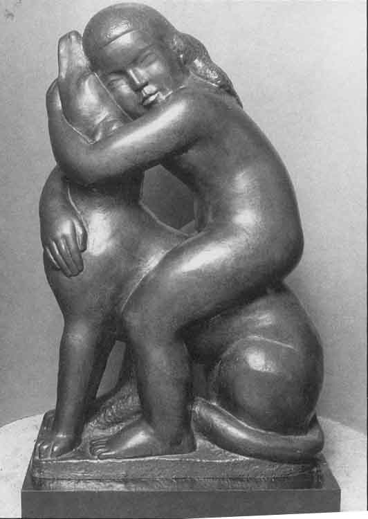 William Zorach - Affection (1933) (1)