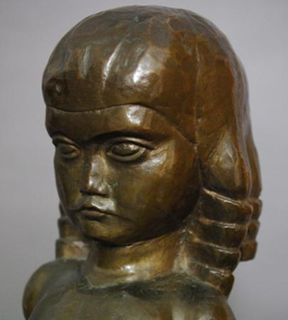 William Zorach - Figure of a Child (Dahlov) (1921) (4)