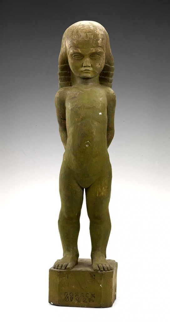 William Zorach - Figure of a Child (Dahlov) (1921) (2)