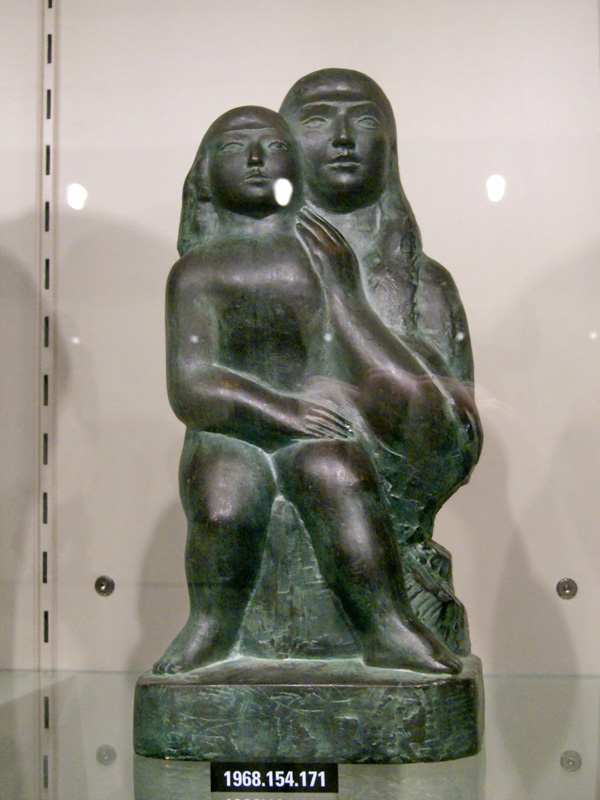 William Zorach - Mother and Child (Dike and Eirene) (1918) (2)