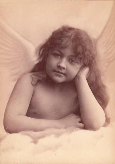 Charles Reutlinger - An Angel in Paris (c1880)