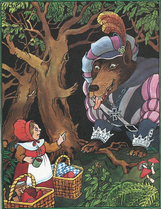 Tomi Ungerer - A Storybook: Little Red Riding Hood (1974)