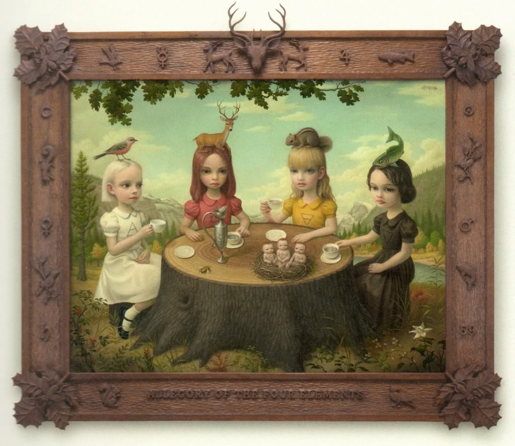 Mark Ryden - Allegory of the Four Elements (2006)