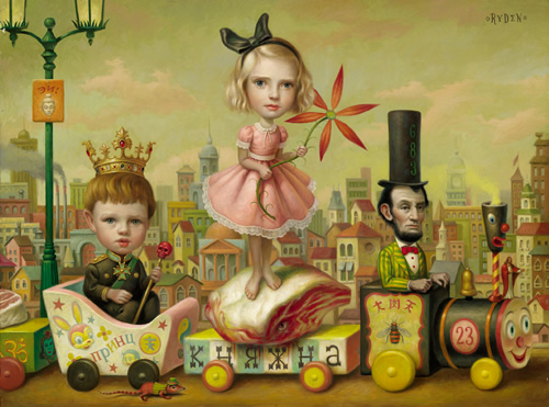 Mark Ryden - The Meat Train (2000)