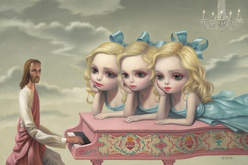 Mark Ryden - The Piano Player (2010)