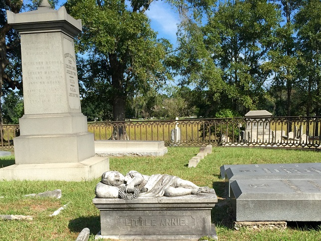 (Artist Unknown) - Tomb of Annie Aiken (1856) (1)