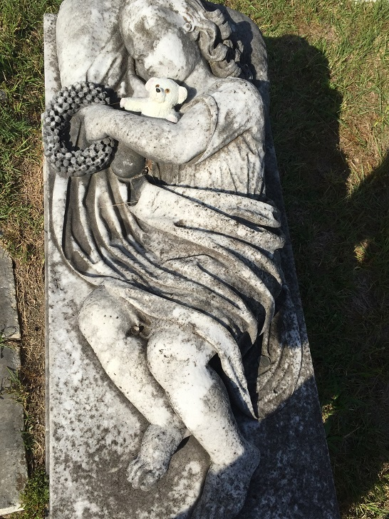 (Artist Unknown) - Tomb of Annie Aiken (1856) (2)